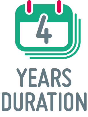 4 years duration icon