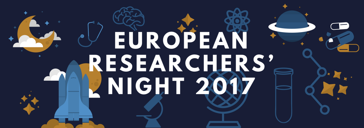 European Researchers' Night 2017 header