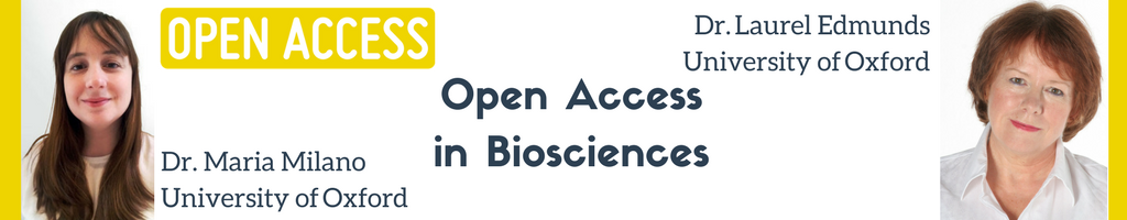 Open Access STARBIOS2 Dr Laurel Edmunds and Dr Maria Milano University of Oxford