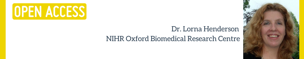 Open Access STARBIOS2 Dr Lorna Henderson NHIR Oxford Biomedical Research Centre