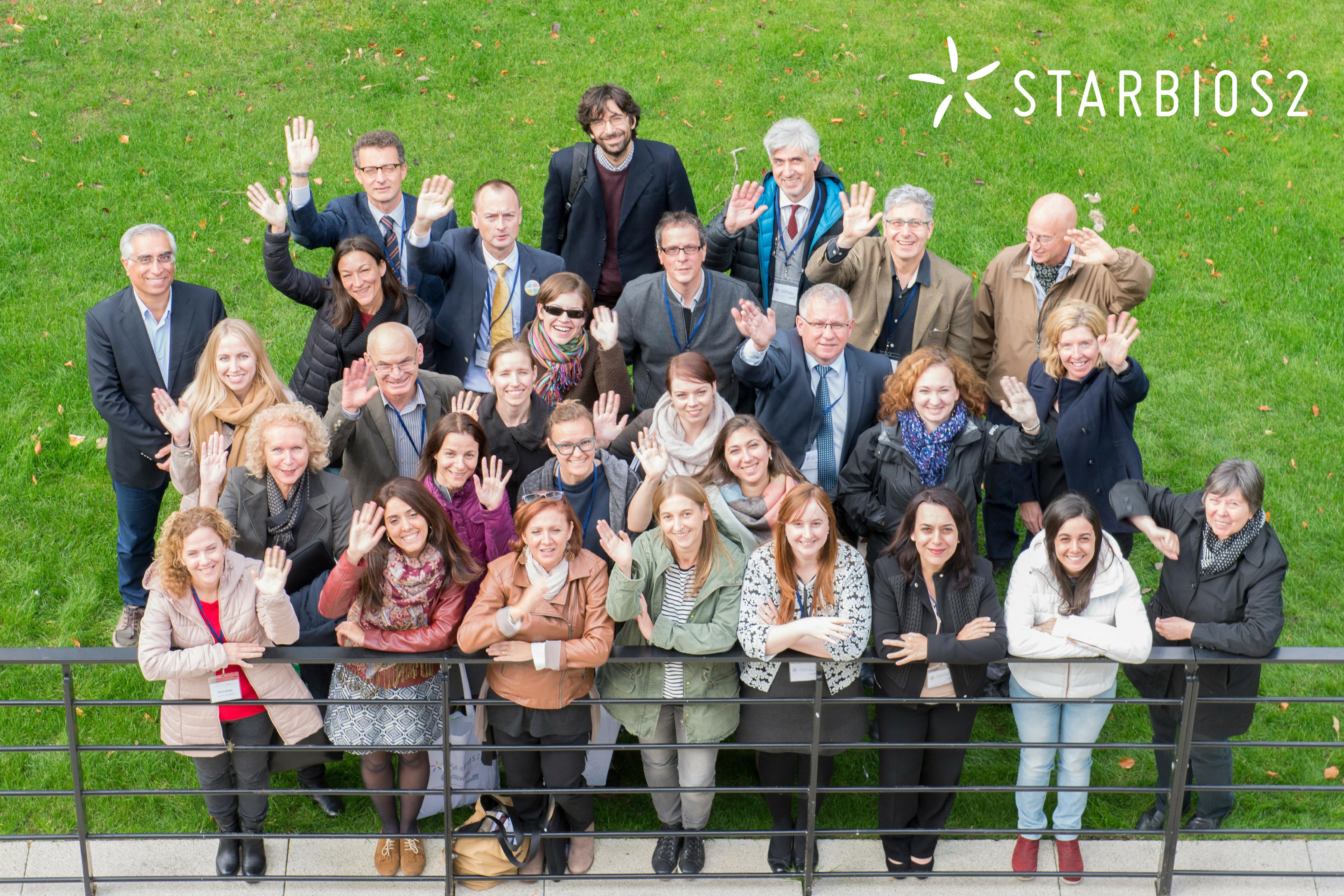 STARBIOS2 partners