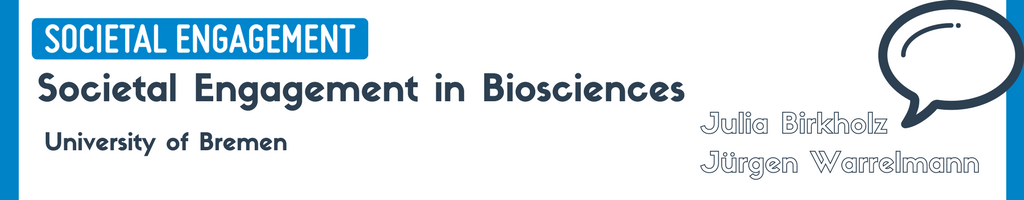 STARBIOS2 Societal Engagement in Bioscinces University of Bremen