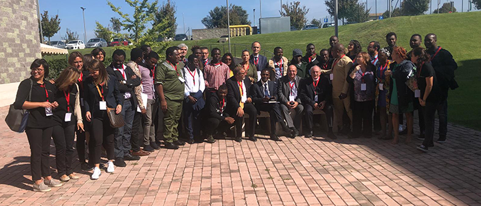 RRI in Africa group photo