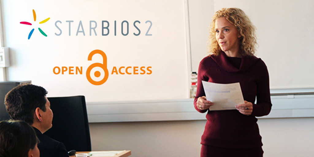 STARBIOS2 Open Access workshop