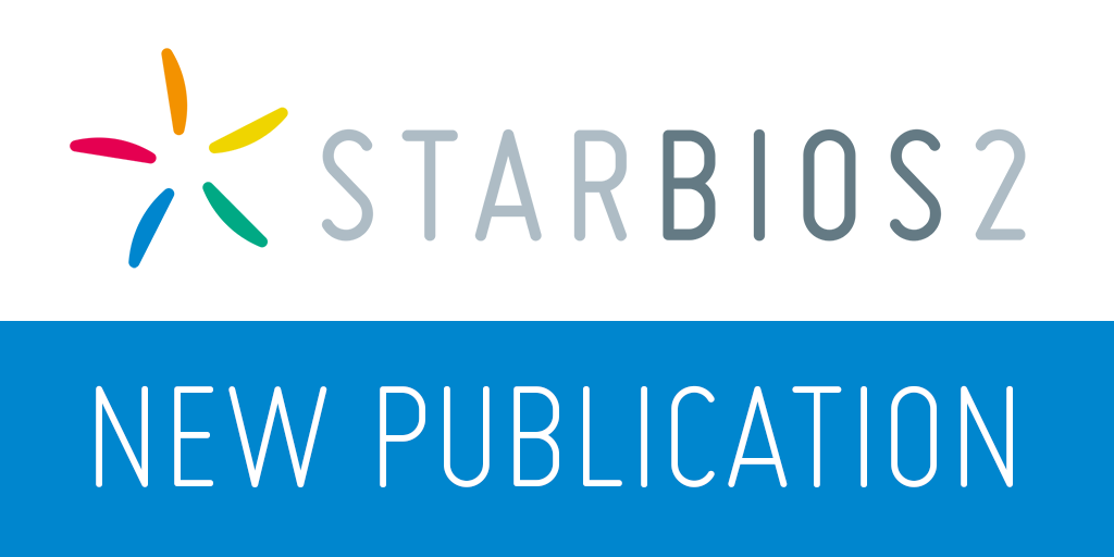 New publication from STARBIOS2