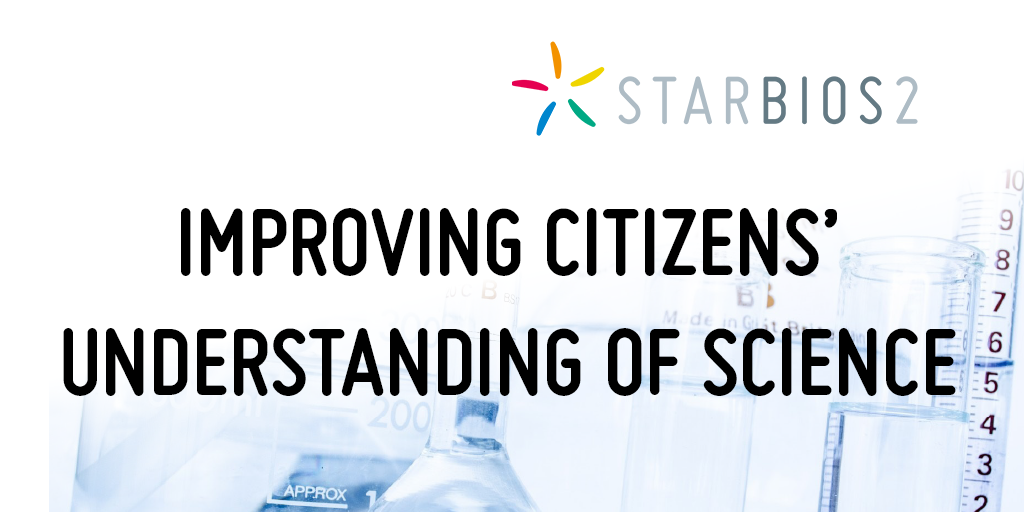 Improving citizens' understanding of science