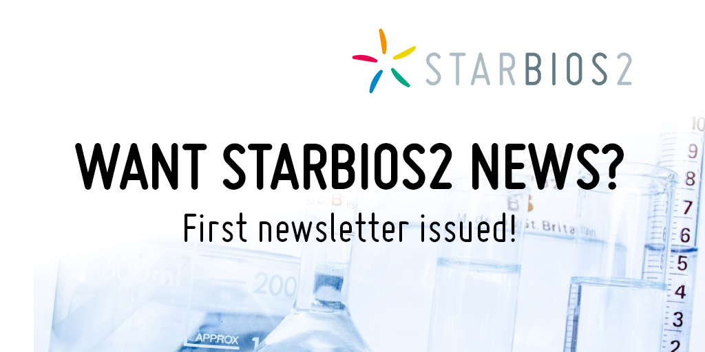 Want to receive STARBIOS2 news? First newsletter issued!