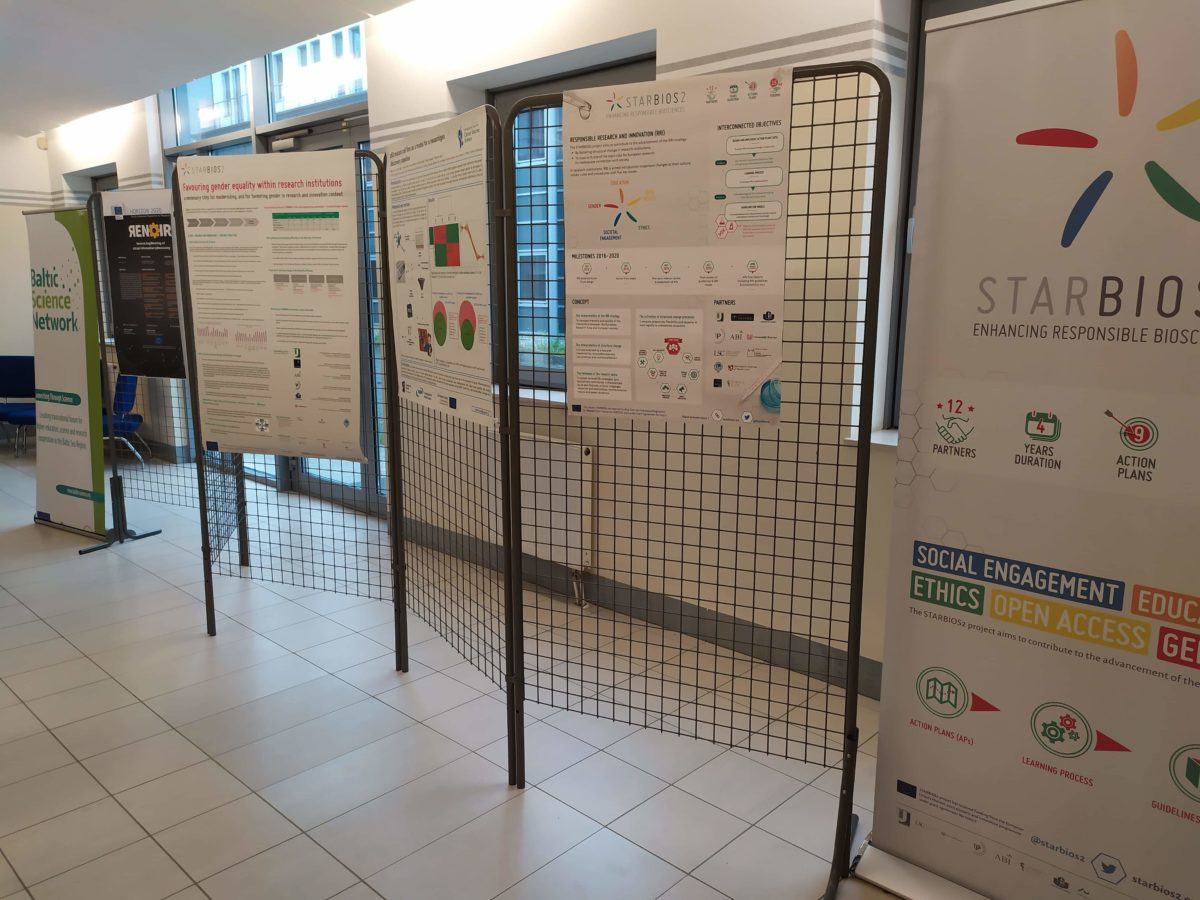 STARBIOS2 posters at KRAB 2019